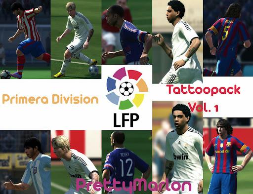 Pes 2010 - Primera Division Tattoo Pack Vol.1 Preview