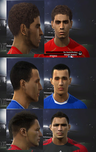 Pes 2010 - Chile Facepack Preview