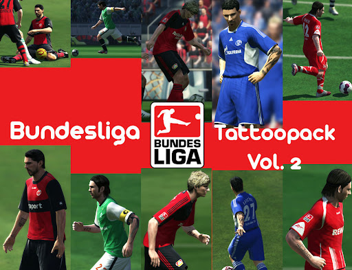 Pes 2010 - Bundesliga Tattoo Pack Vol.2 Preview