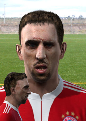 Pes 2010 - Ribery Face Preview