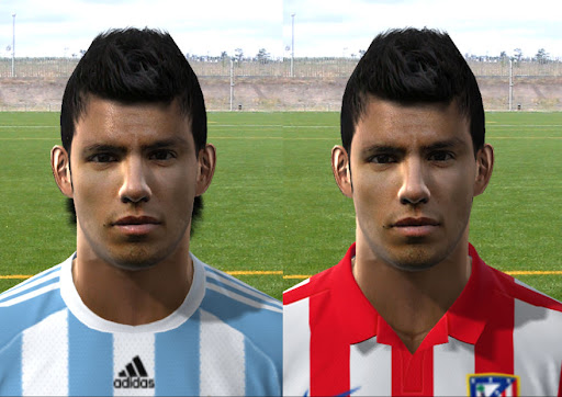 Pes 2010 - Aguero Face Preview