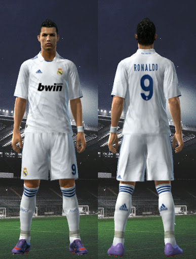 real madrid 2011 kit. Real Madrid 10-11 Home Kit by