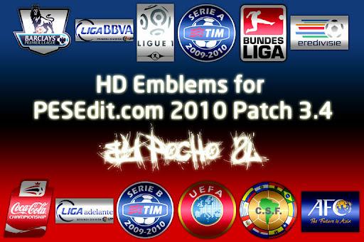 PESEdit 2010 Patch 3.4 Hd Amblem Paketi Preview