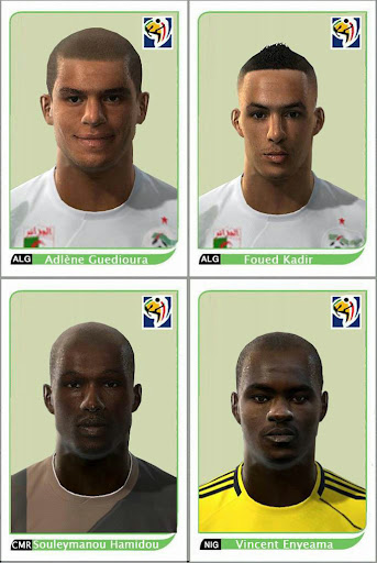 Pes 2010 - Africa Facepack Preview