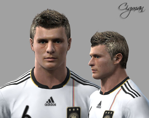 Pes 2010 - Kroos Face Preview