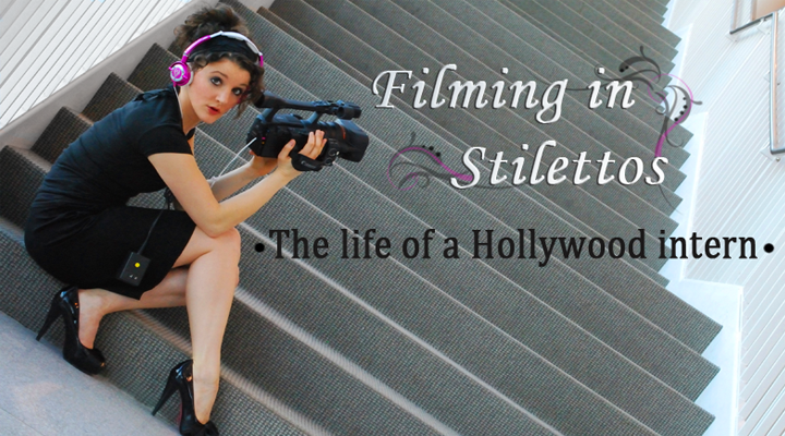Filming in Stilettos