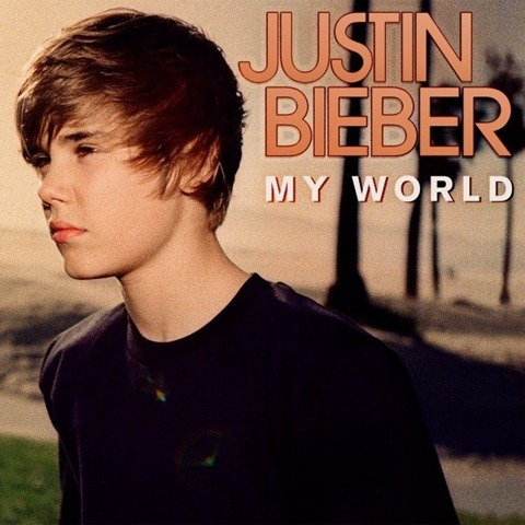 justin bieber album. justin bieber my world album