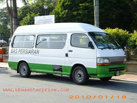 TOURIST VAN FOR CHARTERED