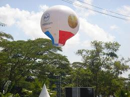 Balon Promosi Balikpapan Expo 2009