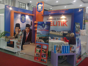 Booth Stand Invesda Expo Jogjakarta