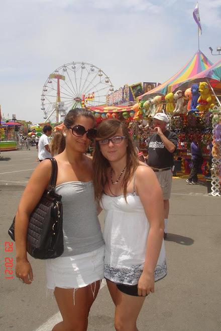 Sara and Amanda
