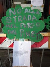 No alla strada nel Pineto!