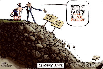obama slippery slope