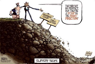 obama slippery slope