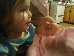 new addition ,little miss delilah with sis charlie mae