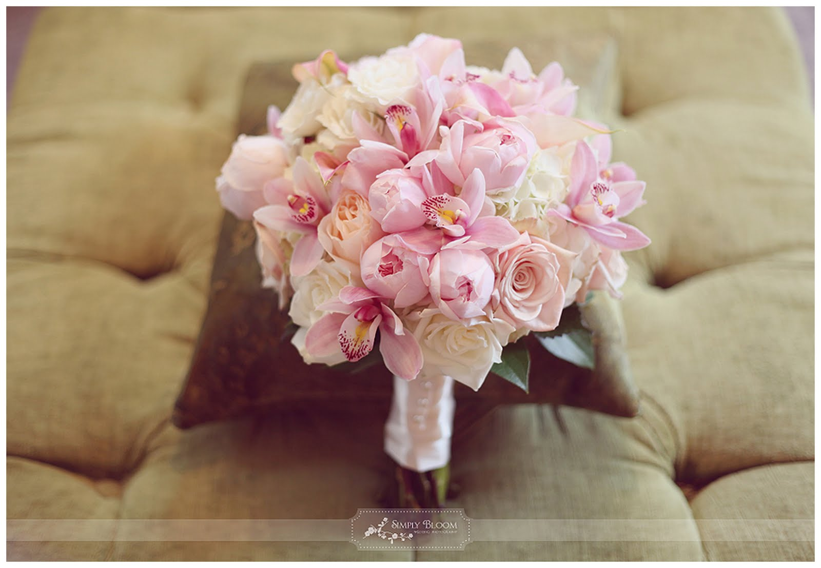 Real Orchid Elegance Wedding Madeline Coby