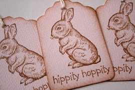 SALE - Hippity Hoppity Bunny Rabbit Gift Tags