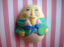 Humpty Dumpty, Painted, Storybook, Scrapbooking Embellishment, Lisa Kettell