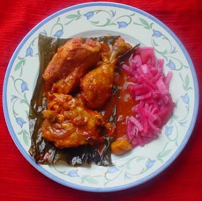 pollo pibil yucateco