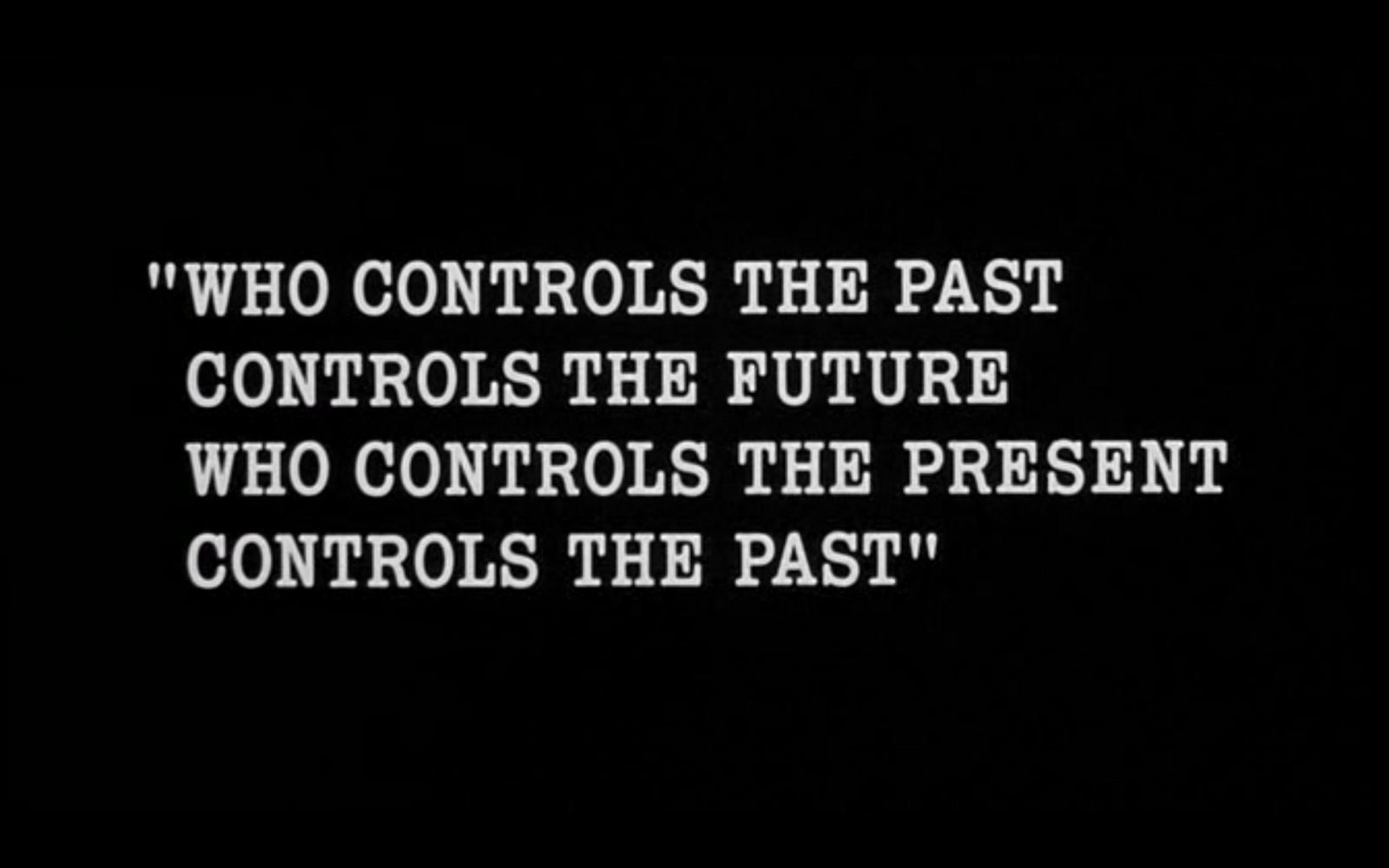 ingsoc and the slogans of control Nineteen eighty-four,  newspeak is ingsoc and ingsoc is newspeak,' he added with a sort of mystical satisfaction  even the slogans will change.