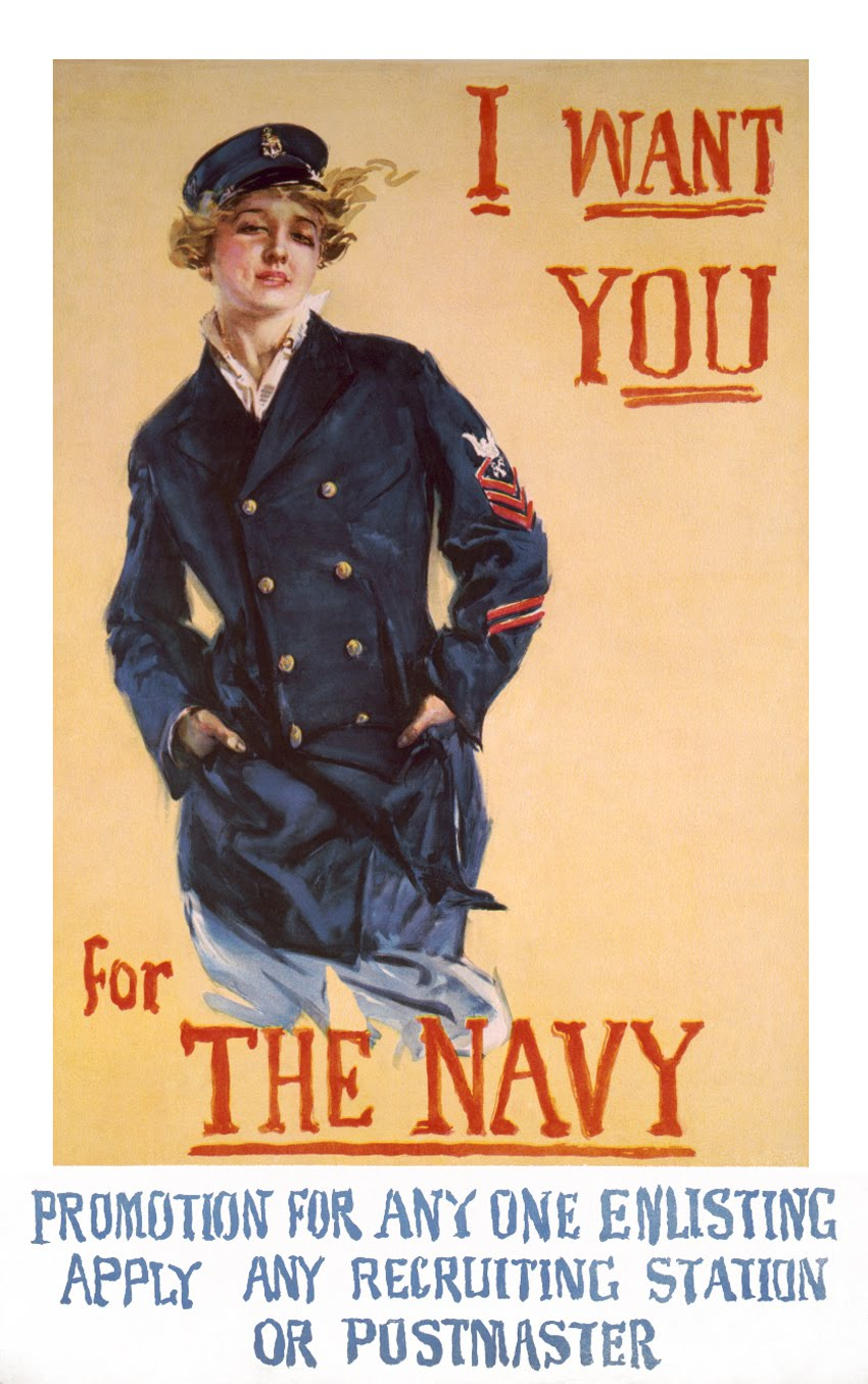 She Wants You … for the Navy