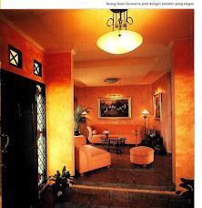 Majalah ASRI Bagian dari Gambar Cover dari Rumah Tinggal Ikang Fawzi & Marissa Haque (1997)
