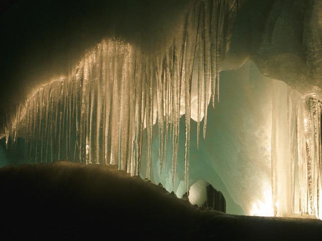 Las cuevas de hielo son muy