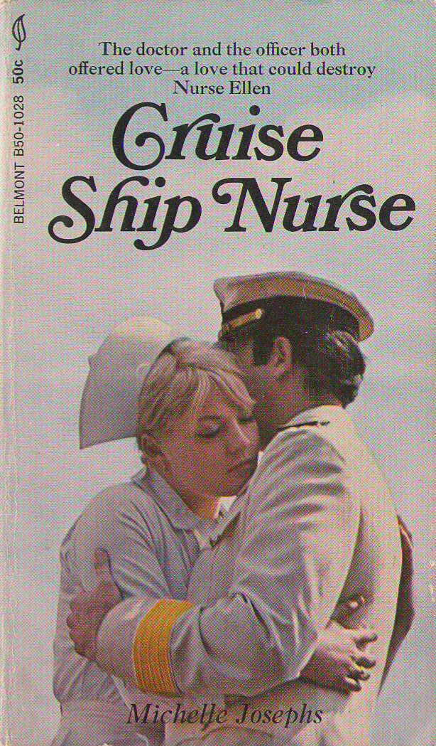 Vintage Nurse Romance Novels Cruise Ship Nurse