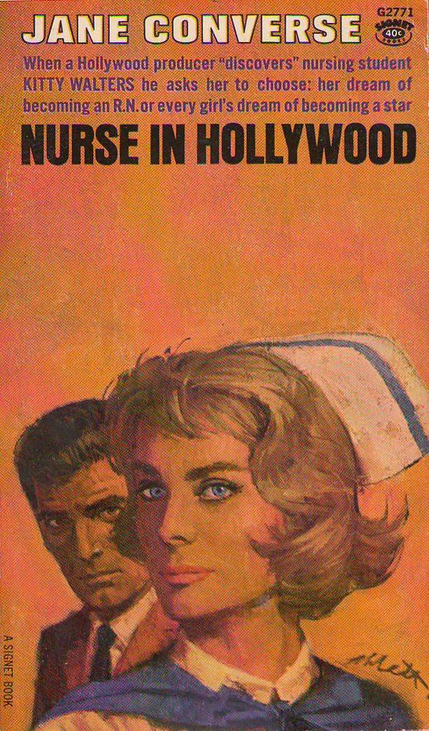 Romance Book Cover Vector ~ Vintage nurse images