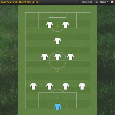 FM2009 Football Manager 2009 Vodu Direct Play 4312