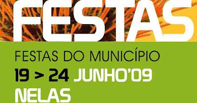 Cartaz Festas Municipio Nelas