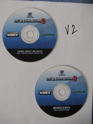 Lost and Found Volume 2 Discs