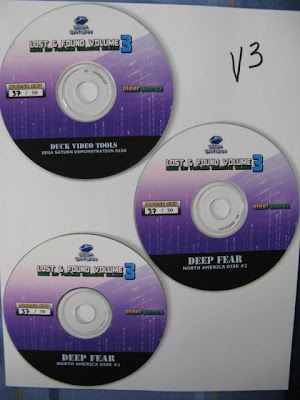 Lost and Found Volume 3 Discs