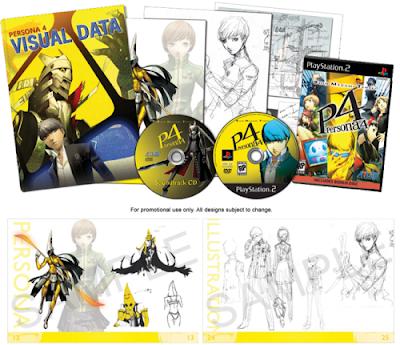 Persona 4 Artbook