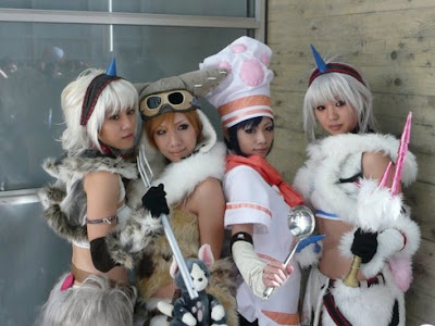 TGS Girls in Costumes