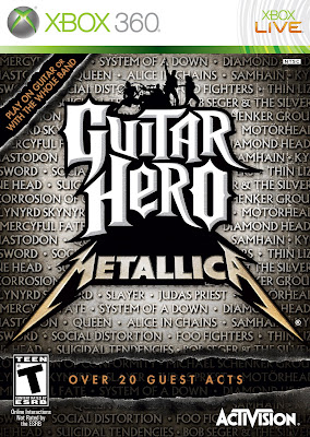 Guitar Hero Metallica Cover Art