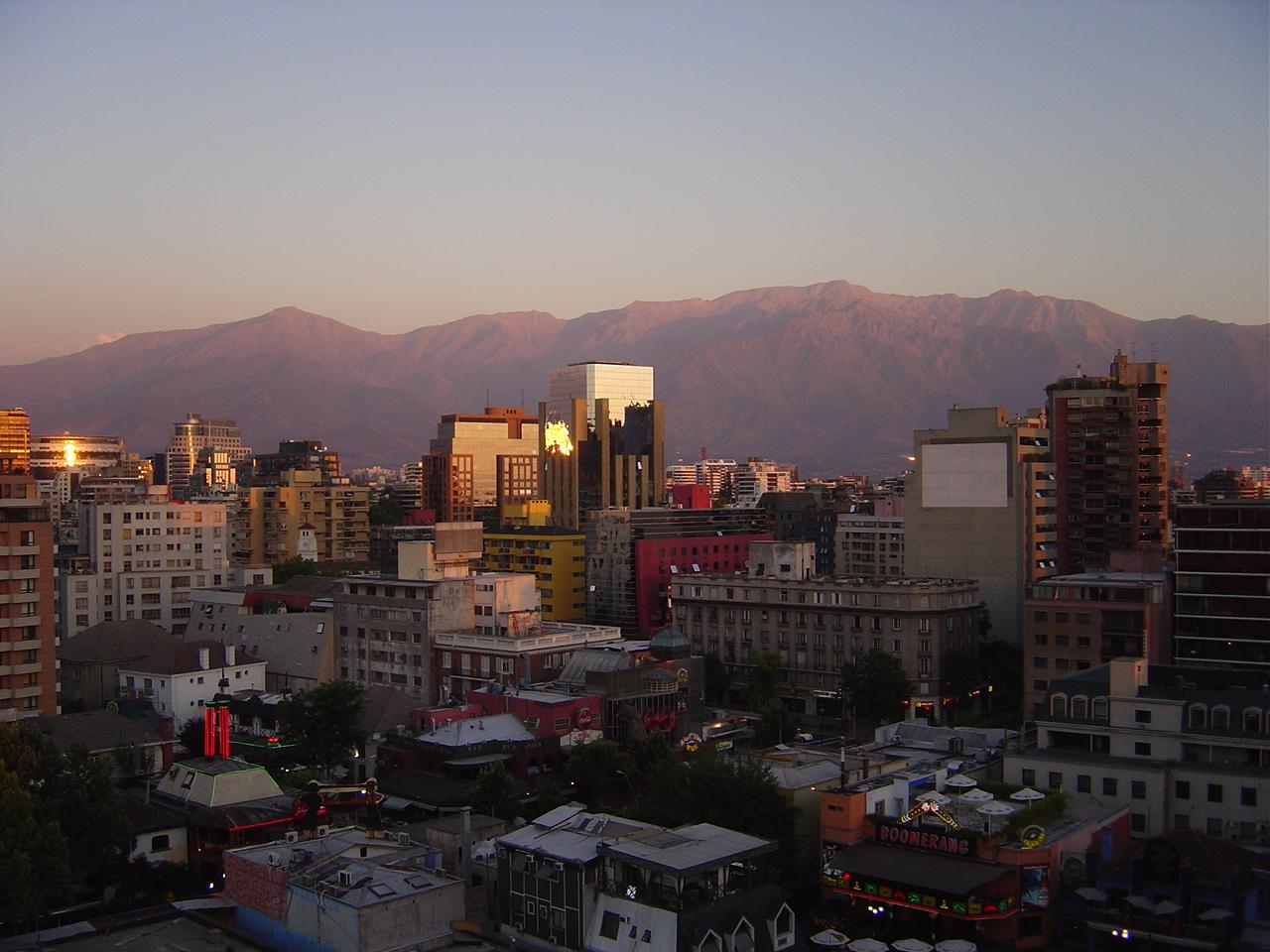 Asideclaro la po tica modernidad de chile for Papeles murales en santiago de chile