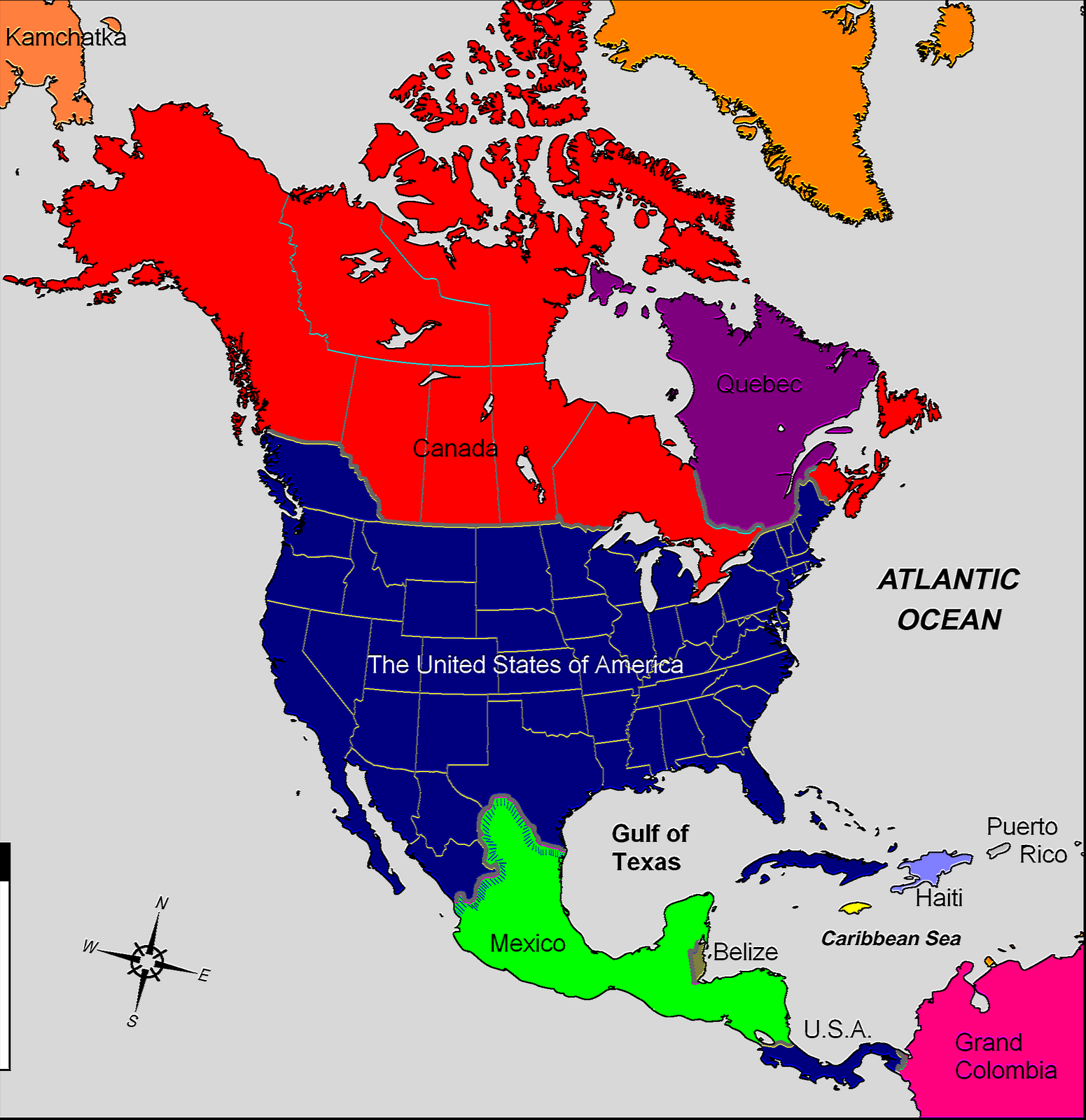 images of alternate history of north america