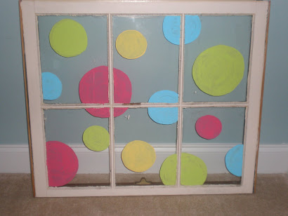Polka Dot Window