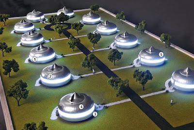 Dymaxion House – R. Buckminster Fuller / Aqua-Velvet