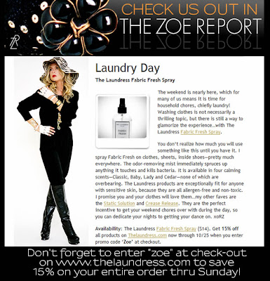 The Laundress Blog The Zoe Report