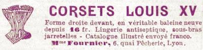 corsets louis XV