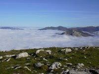 Mar de nubes desde Urkulu