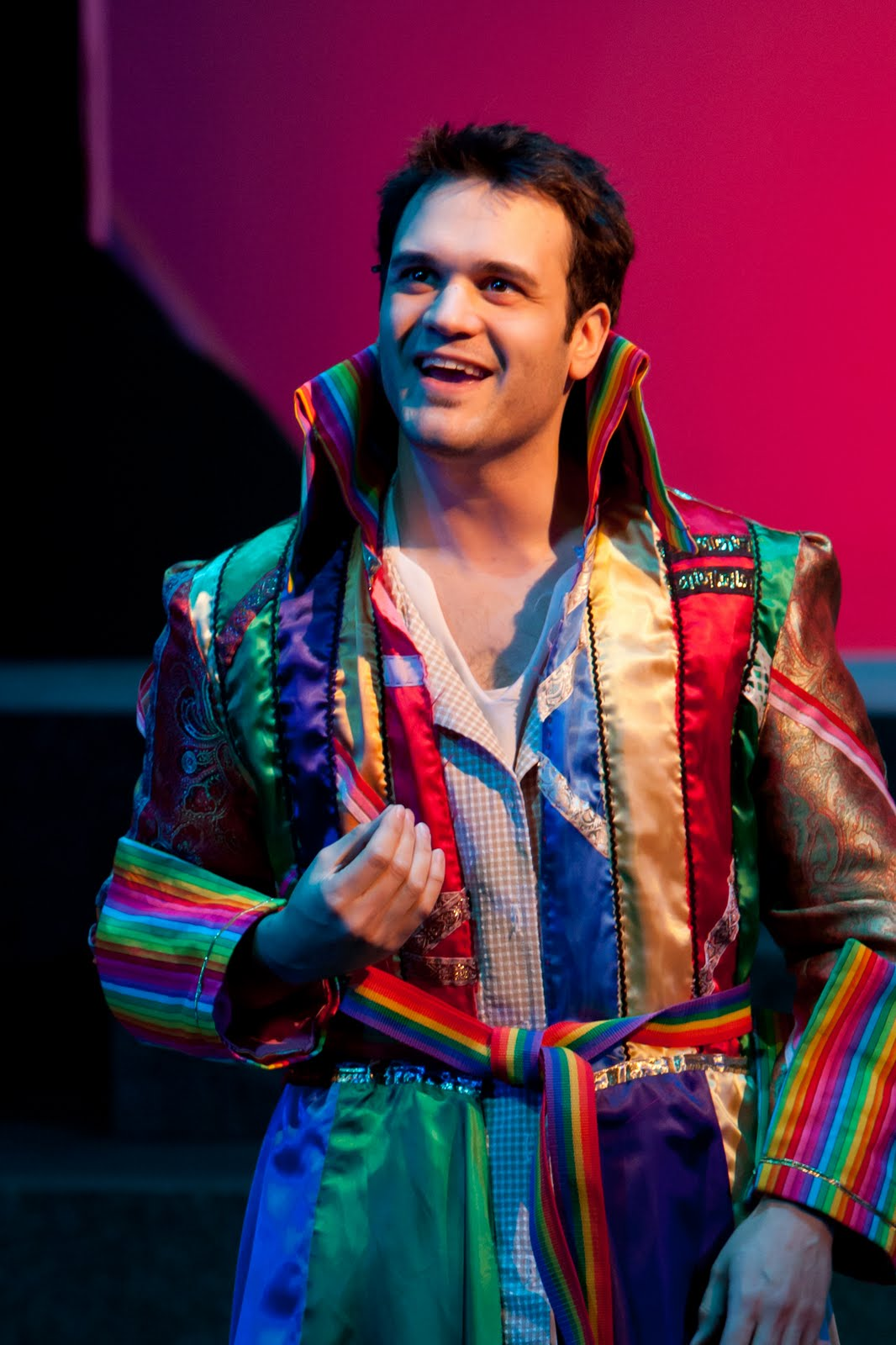 Rave and pan joseph and the amazing technicolor dreamcoat beck