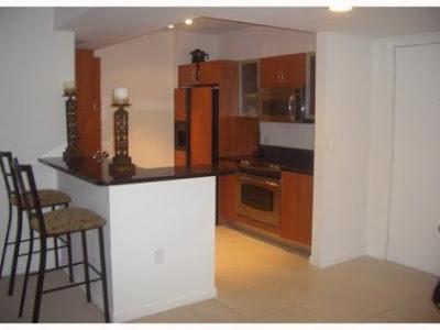 Cocina de apartamento en Aventura Florida