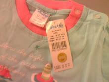 New Baju Anakku - Size 12-18 mth