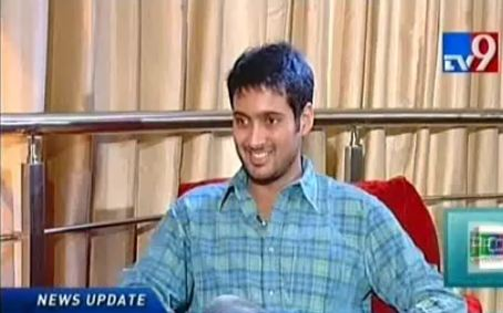 Uday Kiran in Close Encounter with Suzzy