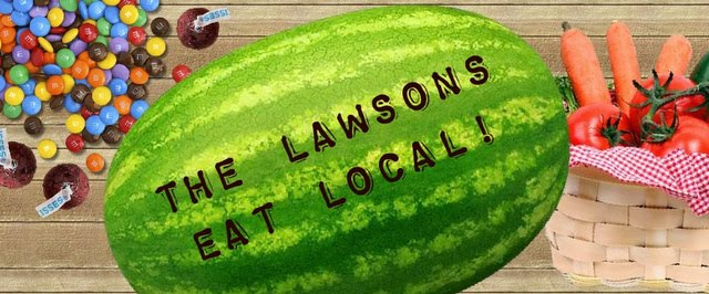 The Lawsons Eat Local!