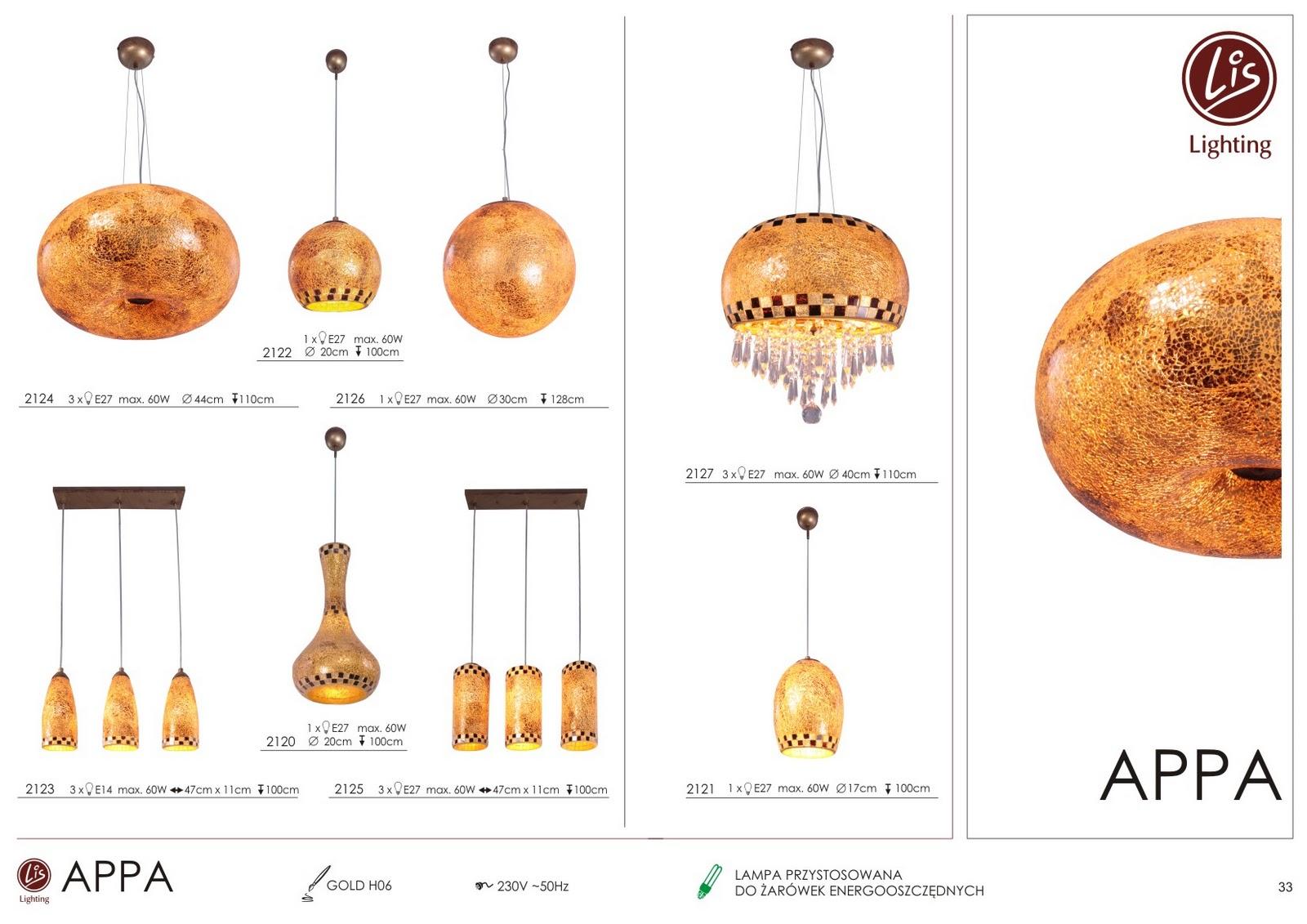 Lis Lighting Aktualności Appa Nowa Kolekcja Lamp
