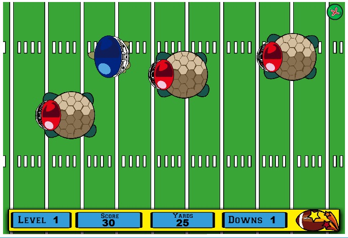 Sqwishlanders : Sqwishlanders: New Game: Running the Touchdown